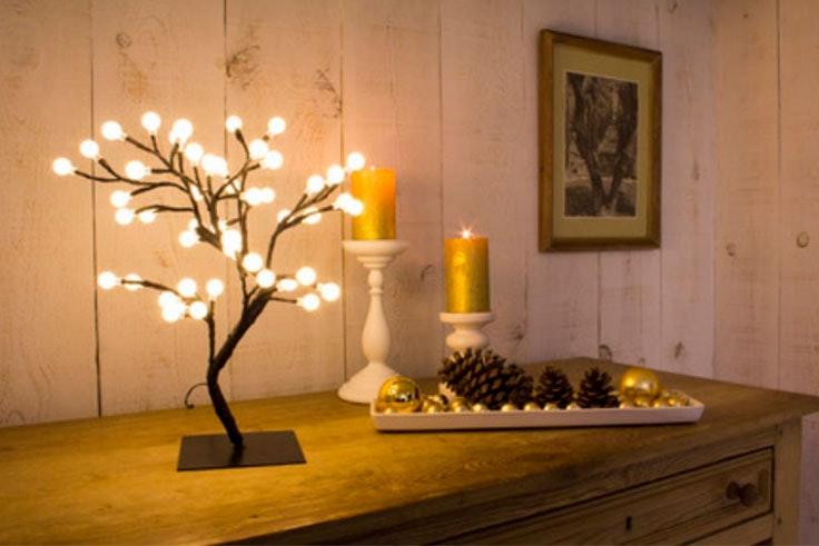 adornos iluminación Navidad