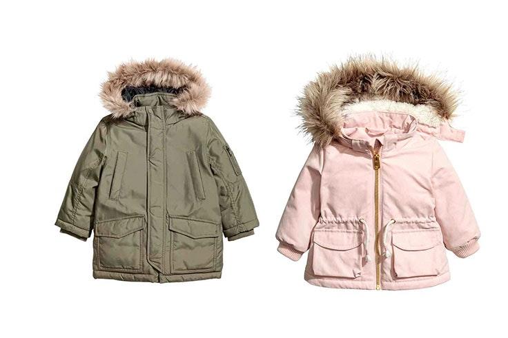 moda prendas niños abrigos