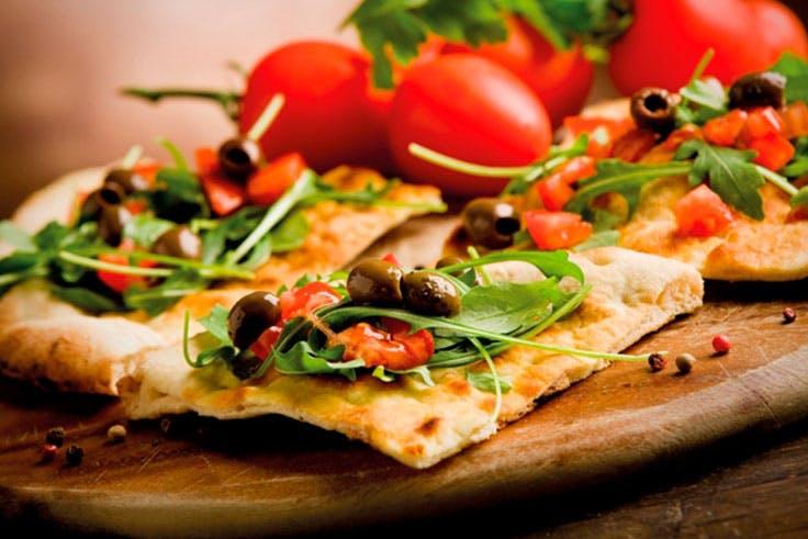 restauración focaccia comida italiana