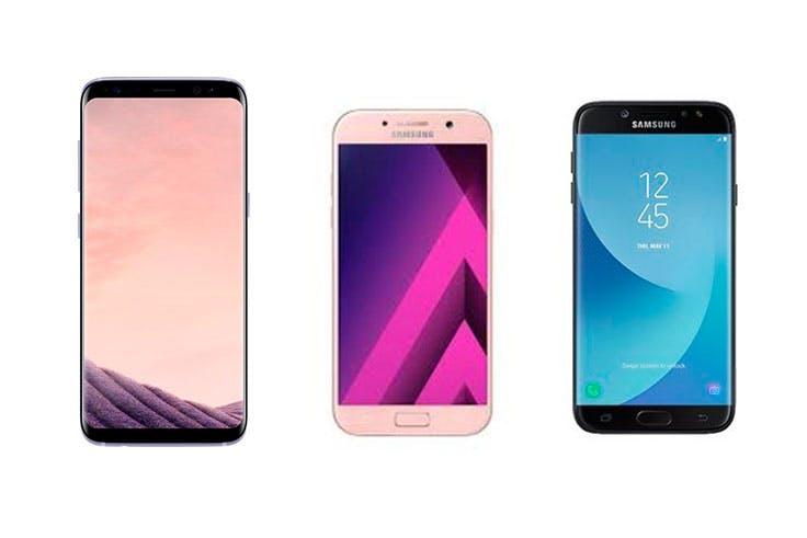 Oferta en smartphones de Samsung
