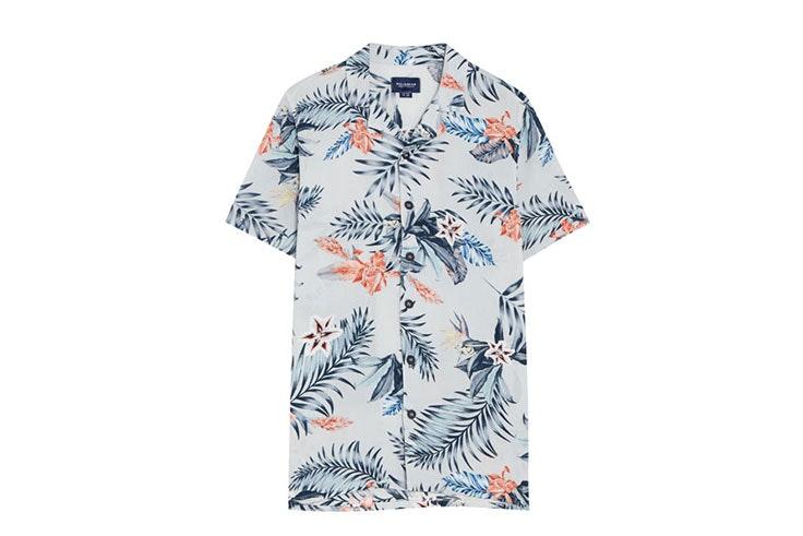 camisa estampada PullandBear