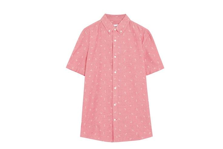 camisas estampadas de PullandBear