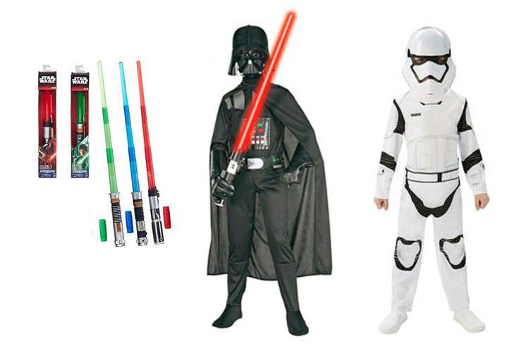 Disfraces para niño de Star Wars