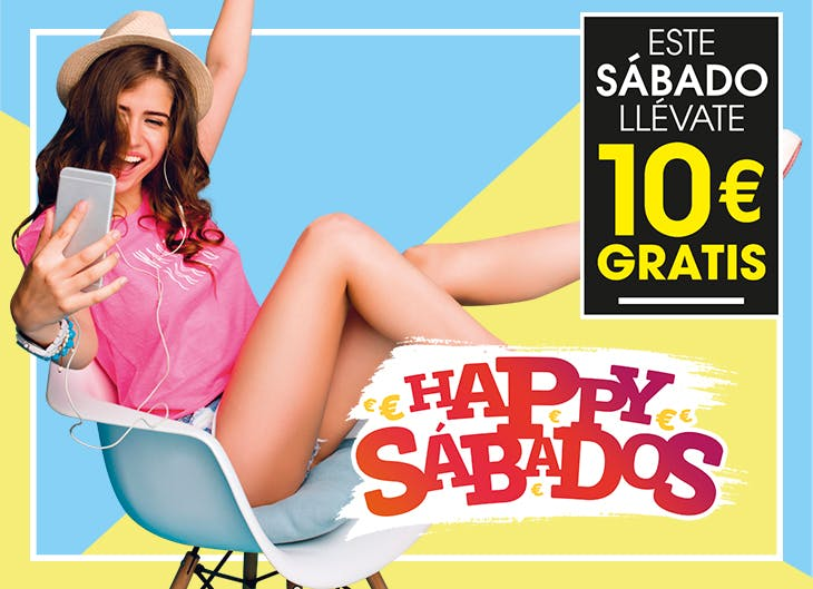 Consigue tu cuoón de 'Happy Sábados' para tus compras en GranCasa