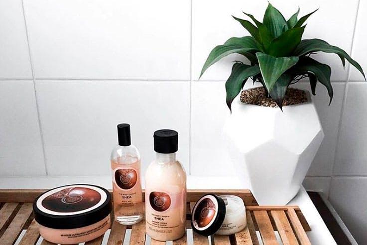 Productos de baño de la tienda The Bosy Shop