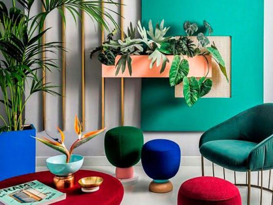 Apuesta por la tendencia 'color block' en la decoración de tu hogar