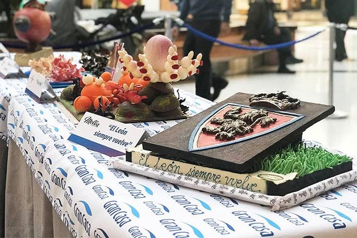 Exposición de monas de Pascua en GranCasa