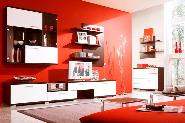Colores salones modernos