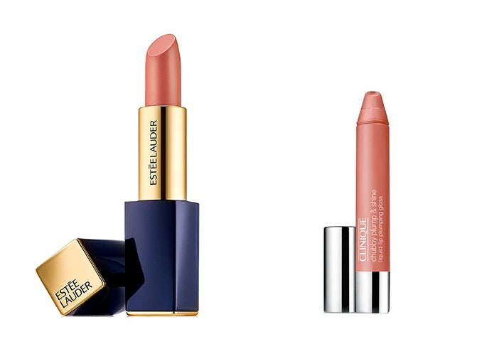 Pintalabios de Druni: Estée Lauder Color Envy (21€)/ Clinique Chubby Plump & Shine (14,28€)