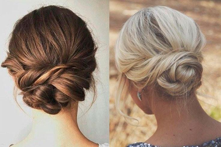 peinados para boda media melena