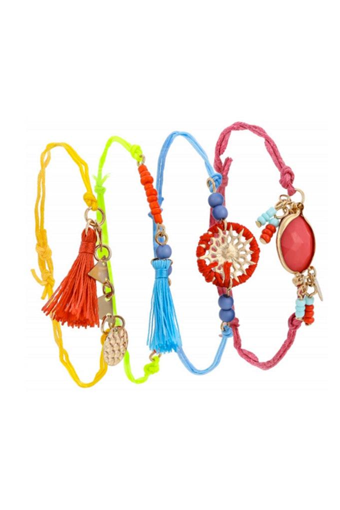 pulseras colores