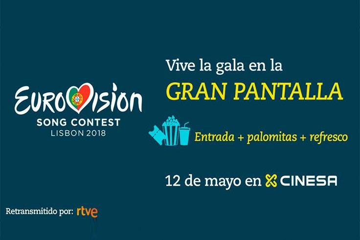 Vive Eurovisión 2018 en Cinesa GranCasa