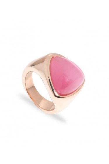 anillo de acero rosa