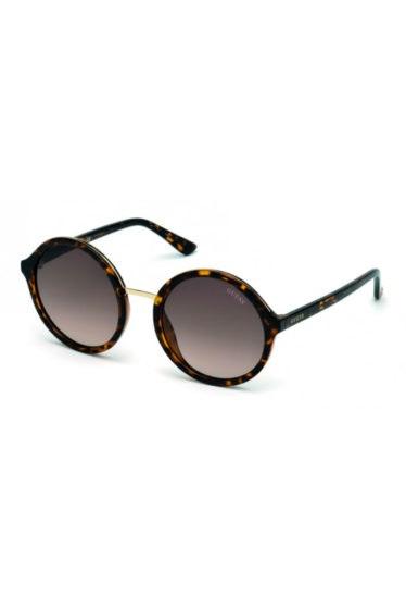 gafas marron circulares