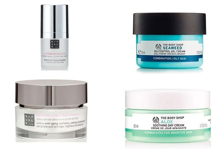 Limpieza e hidratación de la piel