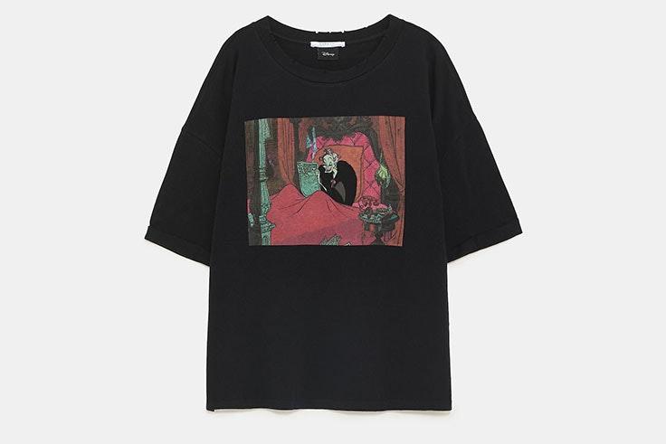 Camiseta Cruella de Vil Zara