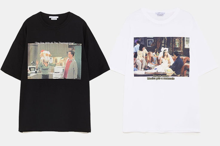 camisetas Friends Zara