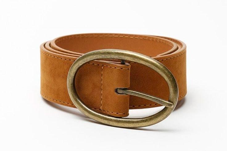 cinturon-marron-hebilla-dorada-misako
