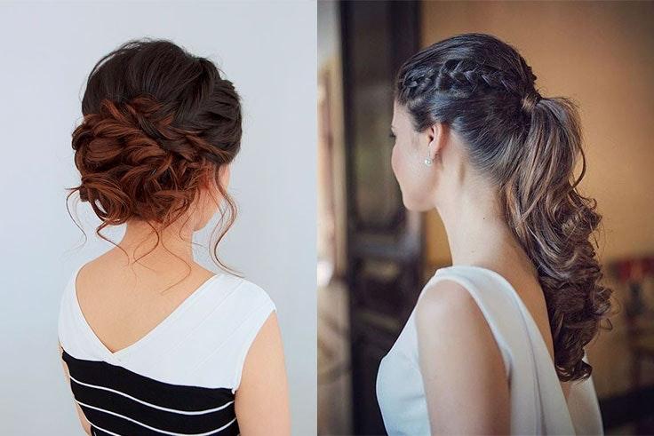 peinados para boda pelo largo