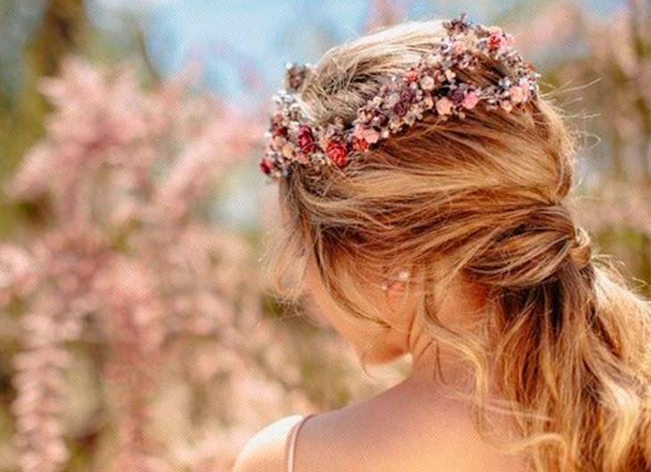 De 10 Fotos De Peinados Para Bodas Primavera Verano 2018