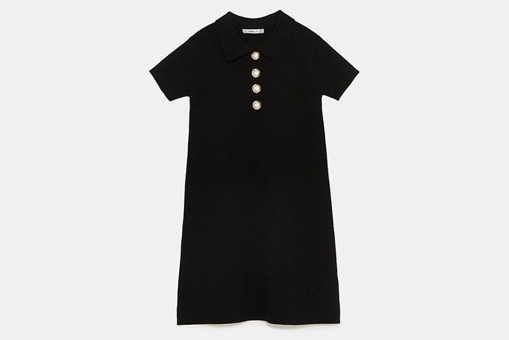 vestido-negro-botones-perlas-zara