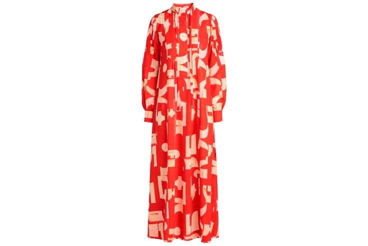 vestido-rojo-estampado-hm