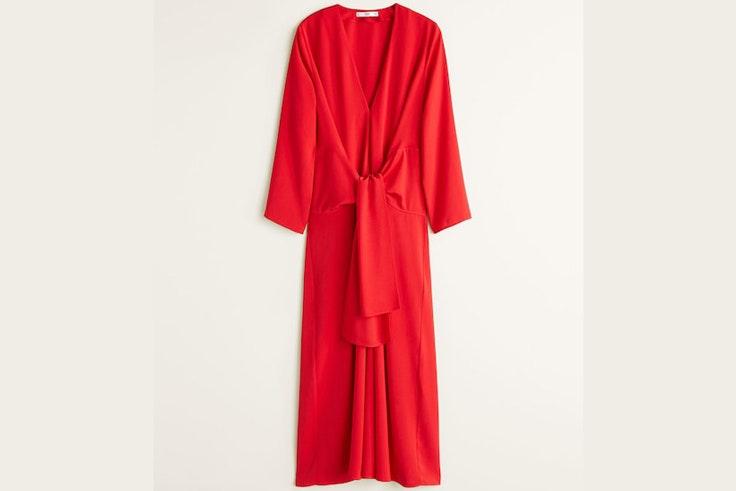 vestido-rojo-lazo-mango