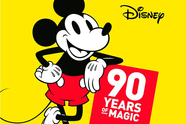 90 aniversario de mickey mouse