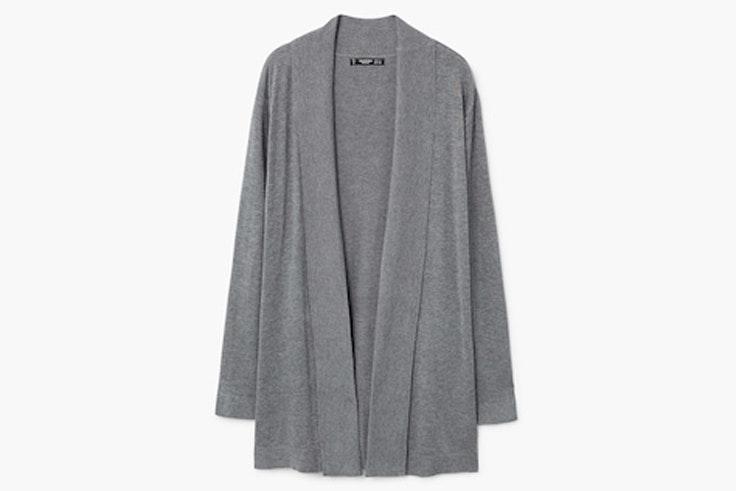 chaquetas-de-punto-gris-mango