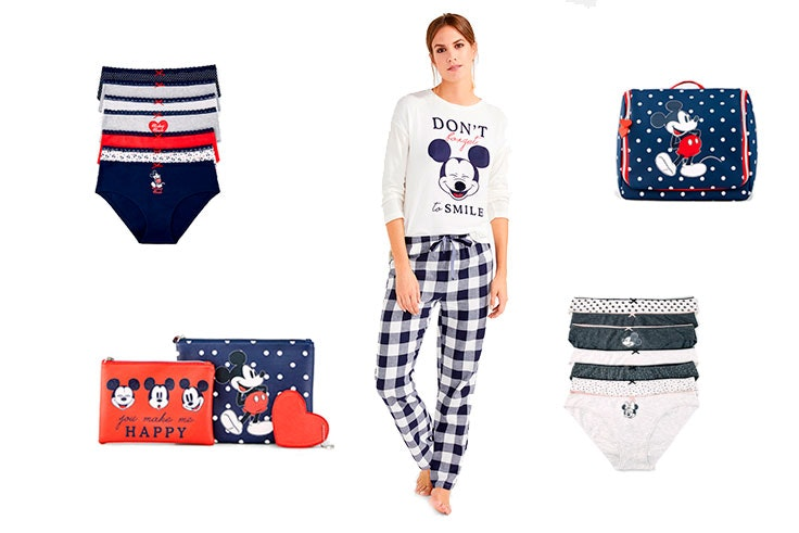 coleccion mickey mouse women secret