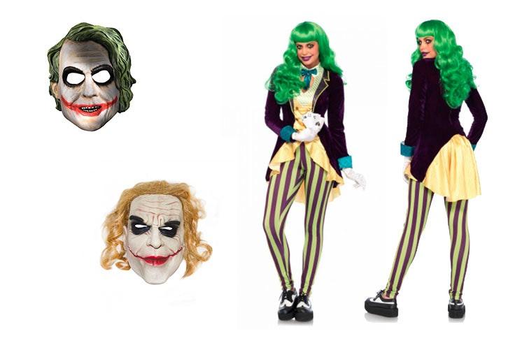 disfraz joker mujer