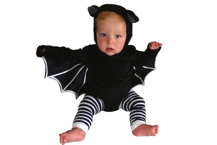 Disfraz de murciélago para bebés (19,99€).