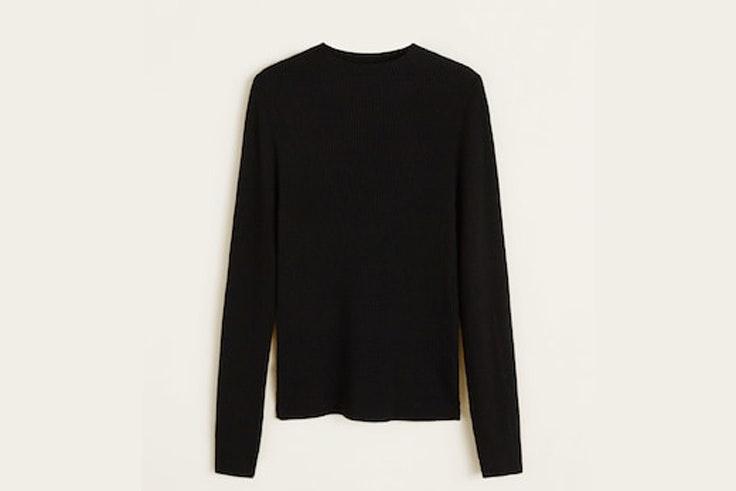 jersey-negro-fino-manga-larga-mango