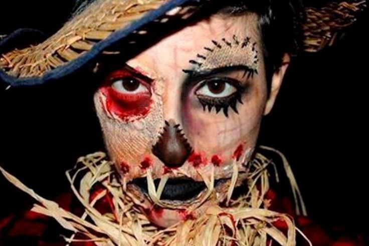 maquillaje de halloween 2018