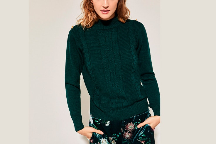 jersey-verde-oscuro-cortefiel