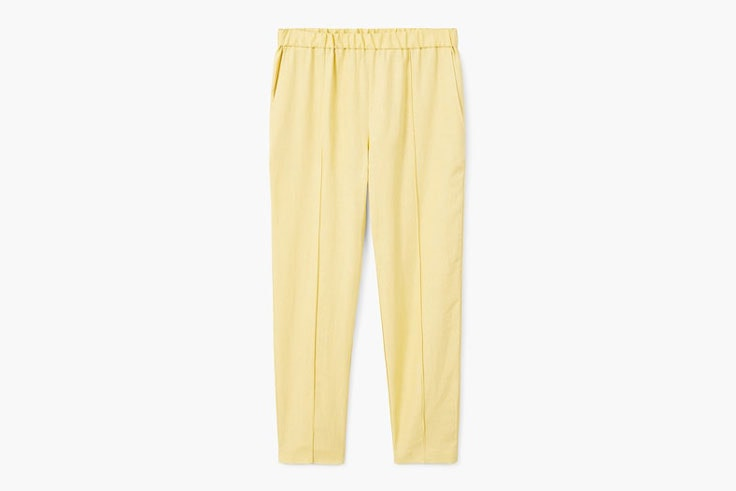 pantalon-amarillo-claro-mango