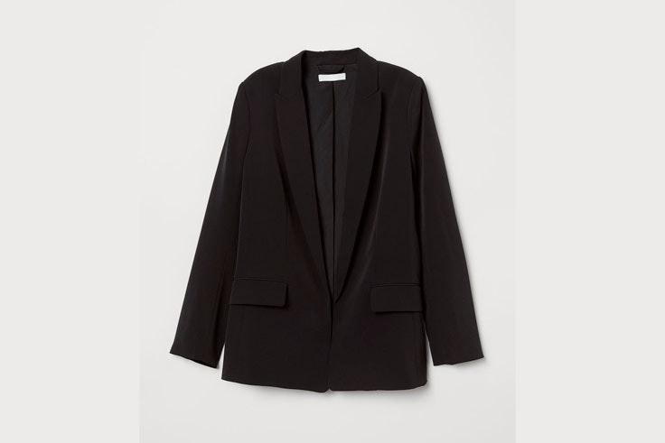 chaqueta-blazer-americana-fluida-color-negro-hm