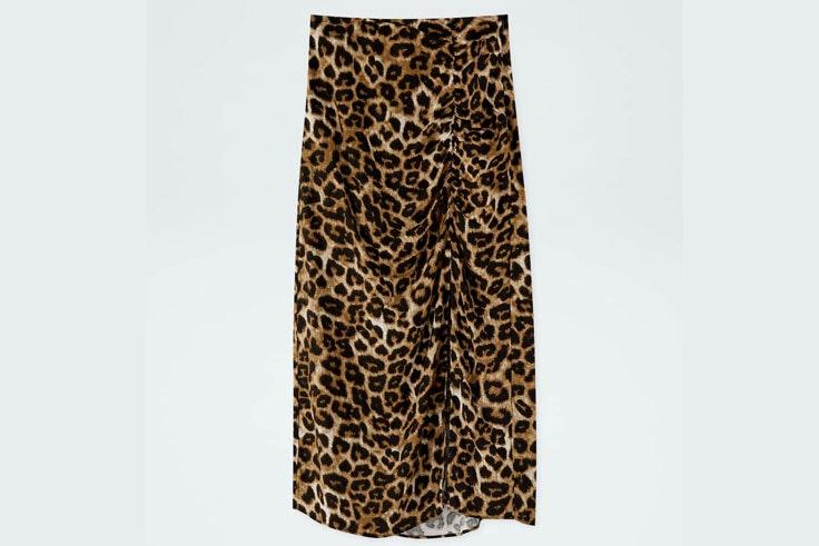 falda-midi-estampado-animal-print-pull-and-bear