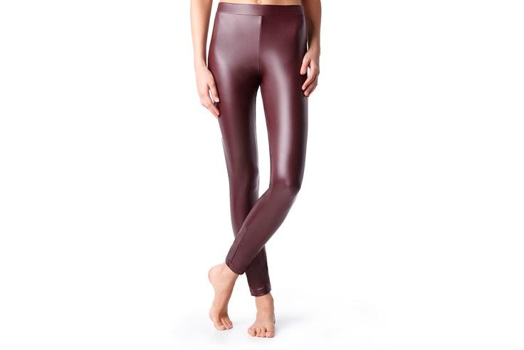 leggings-efecto-piel-negro-calzedonia