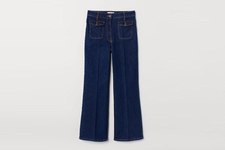 pantalon-vaquero-campana-hm