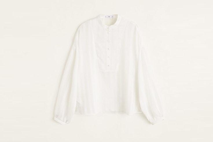 blusa-blanca-manga-abullonada-mango