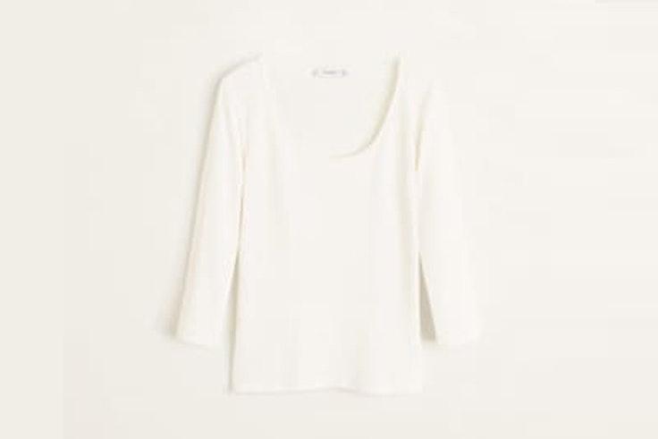 camiseta-blanca-punto-canale-manga-larga-mango