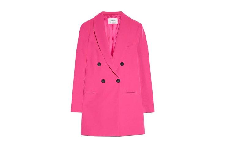 chaqueta-americana-rosa-stradivarius
