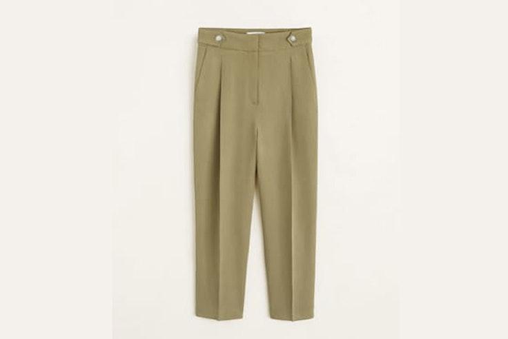 pantalon-verde-kaki-mango
