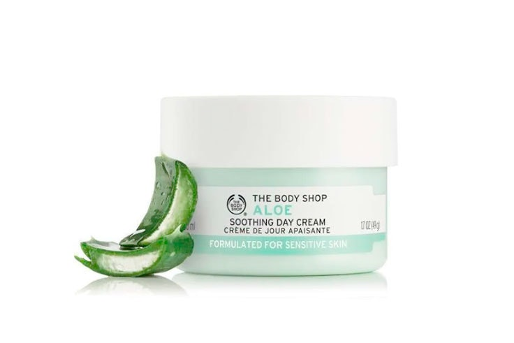 the body shop crema de dia aloe