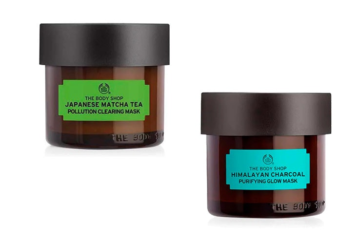mascarillas faciales de The Body Shop