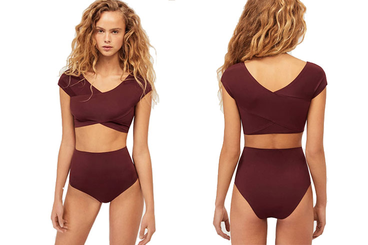 bikini liso bonded Oysho