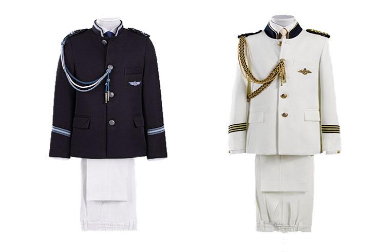 trajes de comunion de almirante para niños
