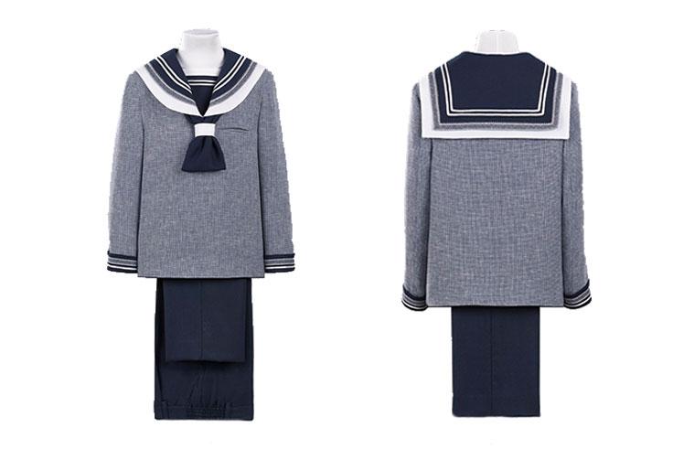 trajes de comunion de lino para niños