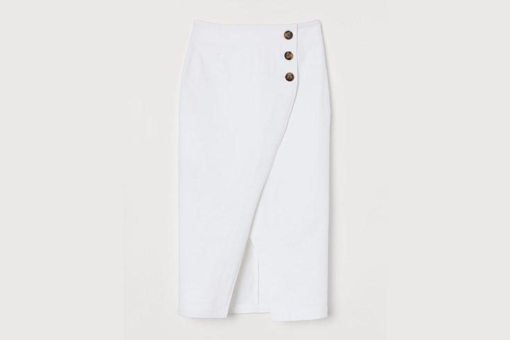 falda-midi-blanca-botones-contraste-hm